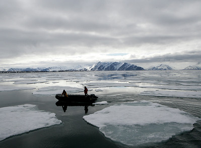 svalbard, iceflow